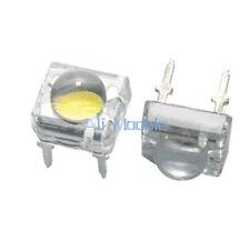 100Pcs 5mm 4pin Piranha LED White Super Bright LED light J16