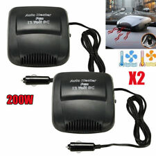 2x200W Car Portable 2 in 1 Ceramic Heating Cooling Heater Fan Defroster Demister