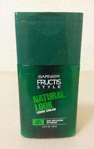 Garnier FRUCTIS Style NATURAL LOOK Liquid Cream Low Hold 4.2 FL Oz