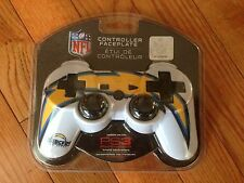NFL SAN DIEGO CHARGERS Controller Faceplate Cover PS 3-FREE SHIPPING!