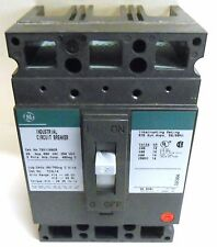 GE CIRCUIT BREAKER, TED136025, 25 AMPS, 600 VAC, 250 VDC, 3 POLE