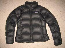 Patagonia Womens Goose Down Puffer Jacket Black M ~~Worn Twice~~