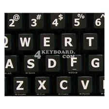 English US LARGE LETTERING Keyboard Sticker black