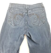 NYDJ SIZE 8 EMBELLISHED Not your daughter's jeans womens size 8 /28 INSEAM 30