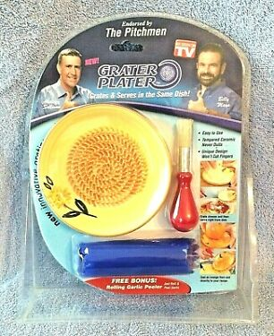 SMART INVENTIONS GRATER PLATER KITCHEN GADGET  AS SEEN ON TV  NEW FREE SHIP