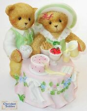 CHERISHED TEDDIES FIGURINE, HILARY & KURTIS, 2004 CLUB EXCLUSIVE, CT0043, NIB