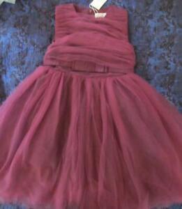 NWT 10 Trish Scully Caroline Sugar Plum Special Occasion Christmas Dress