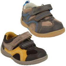 Scarpe in camoscio con chiusura a strappo per bambini dai 2 ai 16 anni