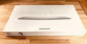 "NEW Samsung Galaxy Book Pro 15.6"" Touch AMOLED i7-1165G7 16GB 512TB SSD - Silver"