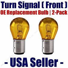 Front Turn Signal/Blinker Light Bulb 2pk - Fits Listed Cadillac Vehicles - 2057A