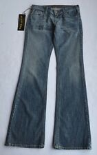 b2821bb5f3d NWT Dry Aged Denim James Cured by Seun Made in USA Blue Stretch Jeans Size  27