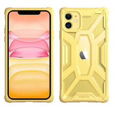 Apple iPhone 11 Case | Poetic Scratch Resistant Clear Bumper Cover Yellow/Clear