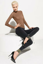 WOLFORD SIMIN Leggings Black Sz: Medium M  Ret:$245 New w/Tags & Box
