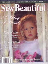 Sew Beautiful Magazine Out-of-Print Back Issues--years ranging from 1993 to 2011