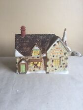 Vintage 1985 Dickens Village Department 56 Ceramic Christmas Decor Works