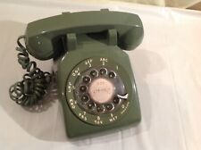 Vintage Green Rotary Dial Telephone Bell Brand