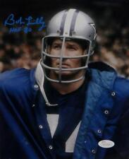 5a2237f42 Bob Lilly Signed Dallas Cowboys 8x10 Wearing Jacket Photo With HOF- JSA W  Auth