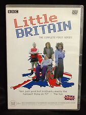 LITTLE BRITAIN~ COMPLETE FIRST SERIES ONE 1~ AS NEW 2 DISC's DVD ~ HUGE 447 MINS