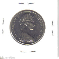 1981 Australia 20 cents Canadian Mint 3.5 claw variety in a/unc. SCARCE COIN!
