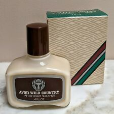 AVON * Wild Country * After Shave Soother Lotion * 4 fl oz * Vintage Men's NOS
