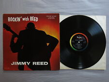 """JIMMY REED Rockin 'avec Reed ~ USA ~ VEE-JAY records LP Suis Ono """"LP 1008!"""