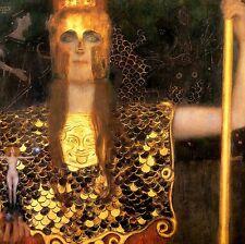 Pallas Athene, 1898 by Gustav Klimt Giclee Canvas Print