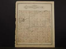 Missouri Audrain County Map Linn & Loutre Township 1918  K11#20