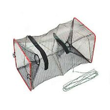 UK SELLER>Foldable Fishing Trap Net Crab Prawn Shrimp Crayfish Lobster Live Bait