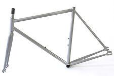 Atir Cycles Glow In The Dark Silver Single Speed Fixed Gear 58cm Frame & Fork