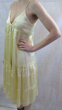 Cohen et Sabine Size 10 Pastel-Yellow Boho Summer Dress