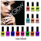 Genuine PaintGlow UV NAIL VARNISH Neon Fluorescent Paint UV Reactive Glow Polish
