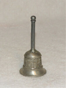 Vintage Pewter Washington, DC-Souvenir Bell-Superb Numbers-271 & Genuine Pewter