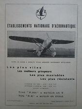 4/1932 PUB AVION DE CHASSE PZL P.VIII P.XI POLAND VARSOVIE POLOGNE FRENCH AD