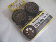 KYOSHO R246-4122 POTENZA High Grip Tires / RAY'S CE28N Wheel