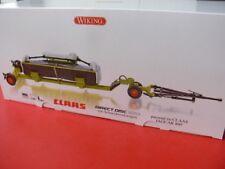 1/32 Wiking Claas Direct disc 520 con schneidwerkwagen 0778 25