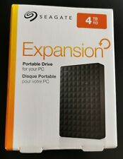 SEAGATE Expansion Portable Hard Drive - 4 TB, Black - Currys