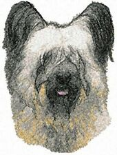 Embroidered Fleece Jacket - Skye Terrier Aed16130 Sizes S - Xxl
