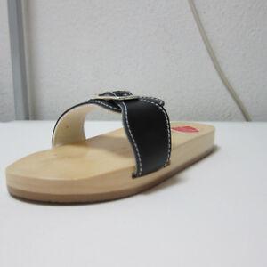 "BERKEMANN Holz ""Original Sandale"" schwarz Gr.4,5 (37,5)   #1782#"