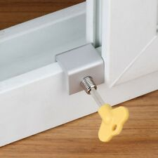 Adjustable Door Sliding Window Locks Stopper Home Door Frame Security Locks New