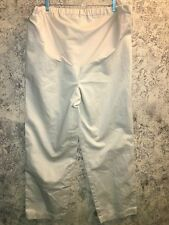 GAP Retro Cut XL Long adjustable maternity pants NWT khaki casual dress stretch