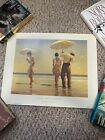 Jack Vettriano Lithograph Mad Dogs Portland Gallery Poster 1994