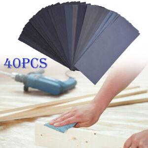 Wet Dry Sandpaper 400 600 800 1000 1200 1500 2000 2500 3000 5000 Grit Wood