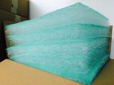 """20"""" x 20"""" x 2.5"""" 15 Gram Fiberglass Exhaust Paint Spray Booth Filter Case 50"""