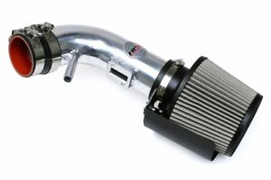 HPS Shortram Air Intake for 2013 Nissan Altima Coupe 2.5L 4Cyl + Shield Silver