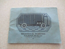 Original 1920s Buick Standard and Master six promotional booklet
