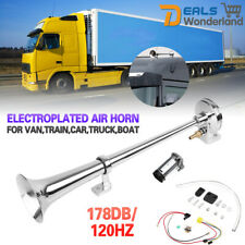 178DB Single Trumpet Air Horn Compressor Kit For Van Train Car Truck Boat 12V