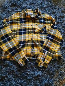 Girls Checked Shirt Age 10-11 Years