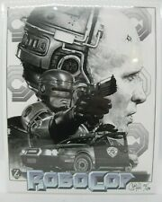 New ListingZobie Box Feb 2020 Exclusive 8x10 Robocop Art Print Hand Signed 151/430