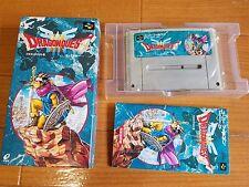 DRAGON QUEST 3 III Super Famicom Japan Nintendo snes