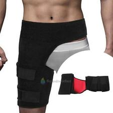 Thigh Support Neoprene Compression Brace Wrap Sprains Therapy Groin Leg Pain Hip
